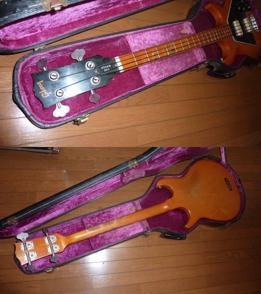 ギブソンUSA Gibson Ripper L-9S 1976年オリジナル ベースギター