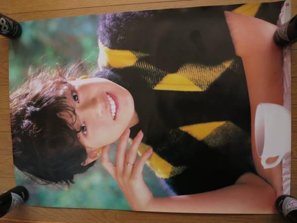 貴重★中森明菜 メモワール予約特典ポスター 1983年A1非売品レア ライブグッズの画像