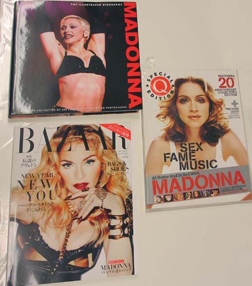 マドンナ 写真集  3冊セット 新品 BAZAAR 2014年3月号