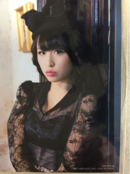 川本紗矢 生写真 やさしくするよりキスをして 通常盤 AKB48 ライブ・総選挙グッズの画像