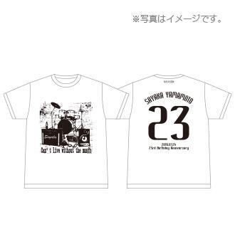 NMB48 山本彩 2016 生誕記念Tシャツ 即決 新品 誕生日 生誕 L ( 2017 rainbow キーホルダー