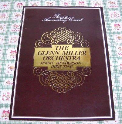 グレン・ミラー楽団結成45周年記念コンサート 1981年 パンフ