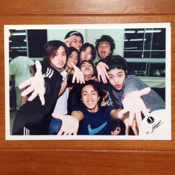 即決¥2000★嵐 公式写真 708★大野智 Jr.時代 ジュニア 貴重 Jロゴ