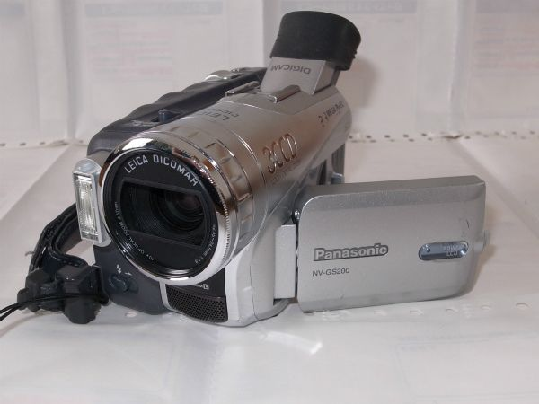 ◇(中古)Panasonic DIGICAM NV-GS200 完動品 保障有!◇