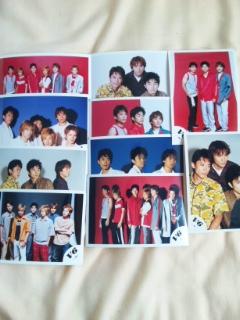 V6&20th 生写真(正規品) コンサートグッズの画像