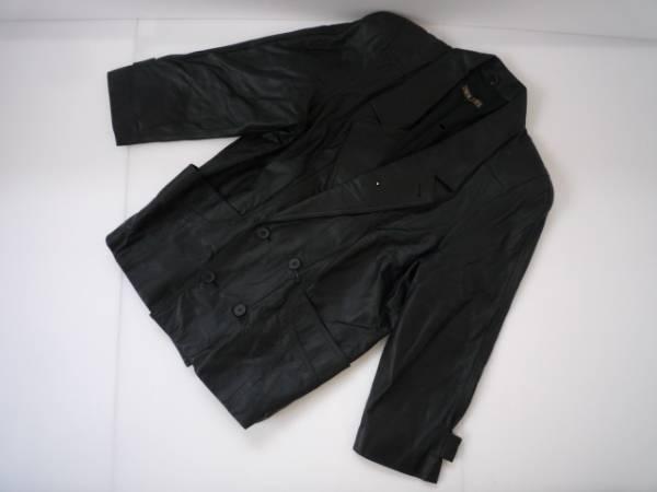 【お得!!】◆BRUGE◆ 長袖ジャケット 黒色 L 牛革