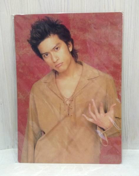 TOKIO ☆ トキオ ☆ 長瀬智也 ☆ 2002年ツアー ☆ 下敷き ☆