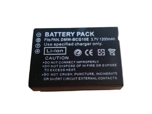 DMW-BCG10 バッテリー 1200mAh DMC-ZX3/DMC-TZ30/DMC-TZ35/TZ20