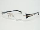 新品 マサキマツシマ メガネ MFP-529-1 ゴールド・クリア/ブラック・ゴールド チタン ツーポイント フレーム 正規品/希少/限定モデル[1161]
