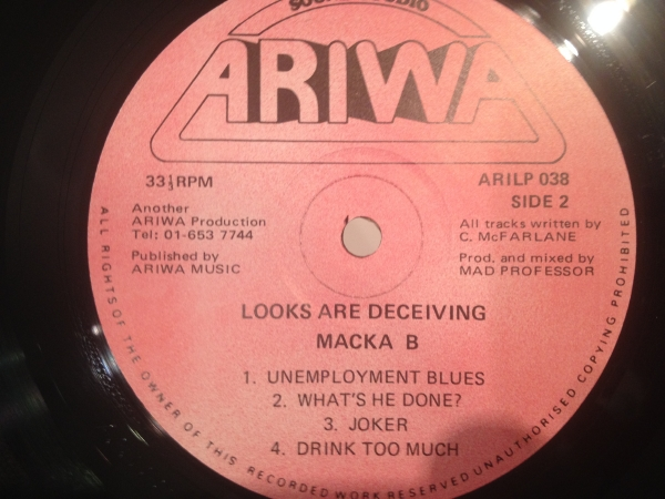 ■Macka B/Looks Are Deceiving■Unemployment Blues収録!_画像3