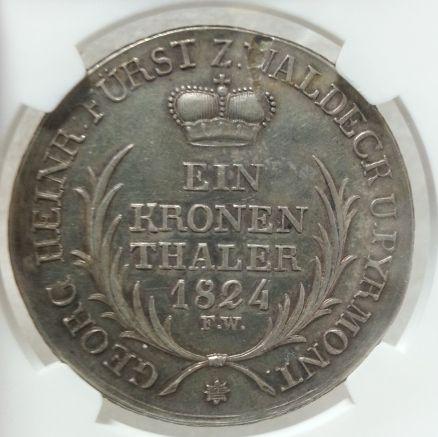 △希少△ 1824 銀貨 ドイツ ヴァル...