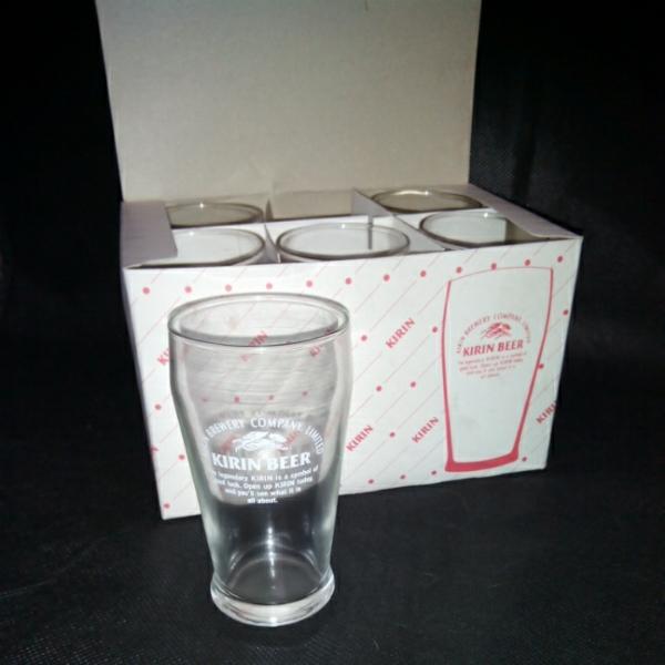 キリンビール ノベルティグッズグラス6個 非売品_画像2