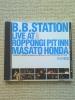 B.B.STATION LIVE/本田雅人☆帯つきビッグバンド青木智仁梶原順