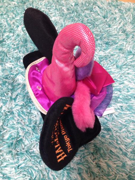 即決◆ ディズニー ミニー 髪飾り 帽子 ハロウィーン 仮装 レア ディズニーグッズの画像
