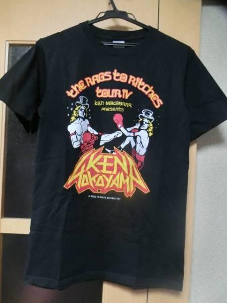 KEN YOKOYAMAケンヨコヤマPIZZ OF DEATHピザオブデス廃盤2011年TOUR限定バンドTシャツ(バンT/ライブT/ロックT)黒sizeS超美品 ライブグッズの画像