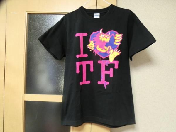TOTALFATトータルファット×RIP DESIGN WORXX限定コラボ廃盤バンドTシャツ(バンT/ライブT)色ブラックsizeM美中古品