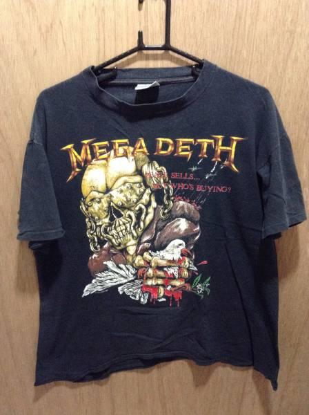 6 バンドTシャツ メガデス MEGADETH ヴィンテージ 1987年 L
