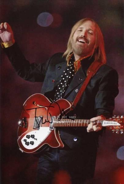 トム・ペティ&ザ・ハートブレイカーズ Tom Petty サイン フォト