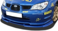 05yスバル インプレッサGD WRXフロントリップ スポイラー エアロ/ スプリッター バンパーリップ ディフューザー