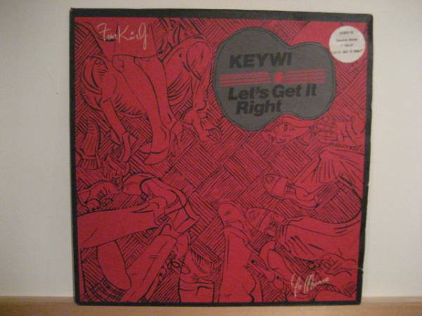 ○Keiwy/Lets Get It Right○80s UK BOOGIE名作!