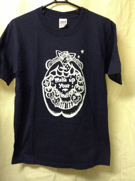 8 バンドTシャツ THEピーズ MAKE UP YOUR DESTINATION (S)