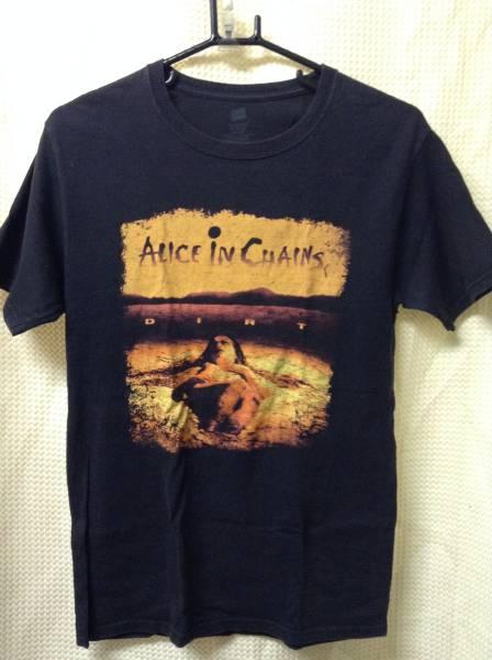 10 バンドTシャツ アリスインチェインズ DIRT (S)