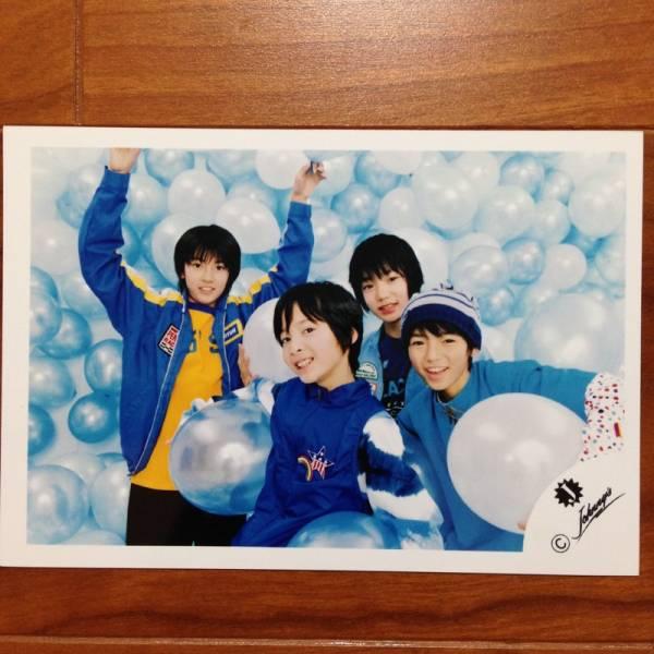 即決¥1000★Hey! Say! JUMP 公式写真 035★薮宏太 Jr. Jロゴ