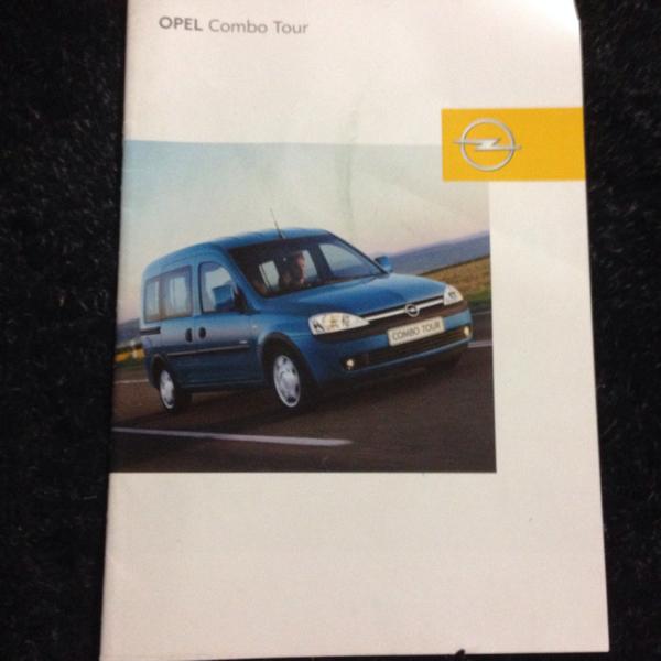海外カタログ オペル コンボ Tour ドイツ語版 27ページ_画像1