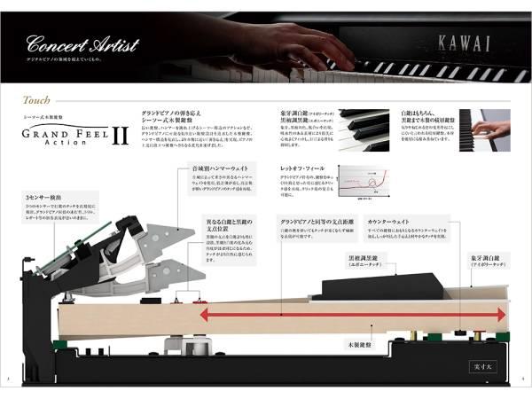 【カタログのみ】KAWAI カワイ 電子ピアノ デジタルピアノ CA CN ES LS1_画像3