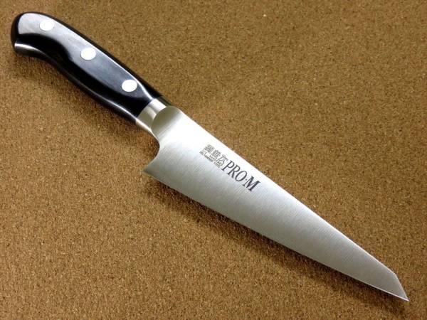 関の刃物 骨すき包丁 14.5cm (145mm) PRO-M モリブデンスチール 1K-6 鍔付一体型包丁 骨から肉を切り剥がす 右利き用 片刃包丁 日本製