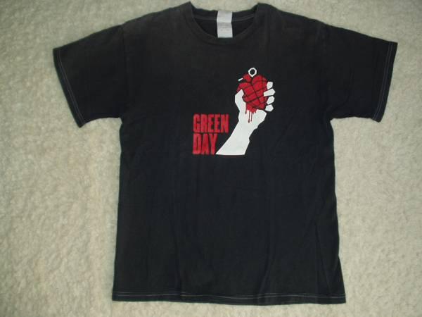 ◆GreendayグリーンデイTシャツAmerican Idiot Tourツアー2005