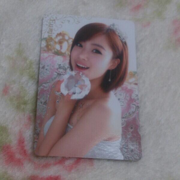 T-ARA Jewelry box CD+DVD ウンジョン ステッカー