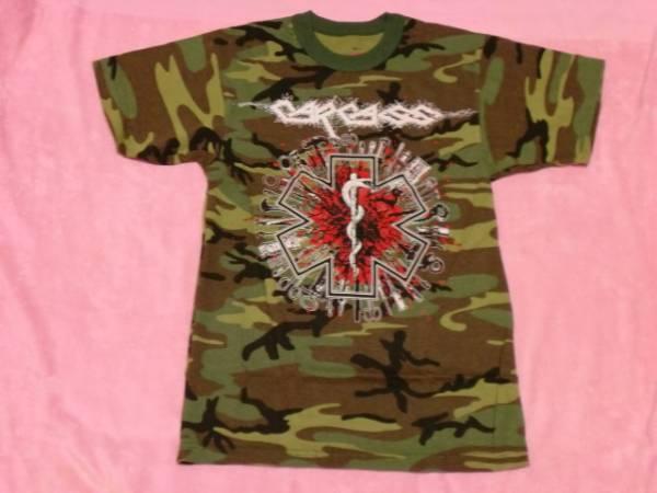 CARCASS カーカス ロックTシャツ S バンドT ツアーT Arch Enemy