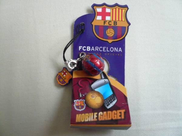 希少!FCバルセロナ 携帯ストラップ キーホルダー バルサ メッシ グッズの画像