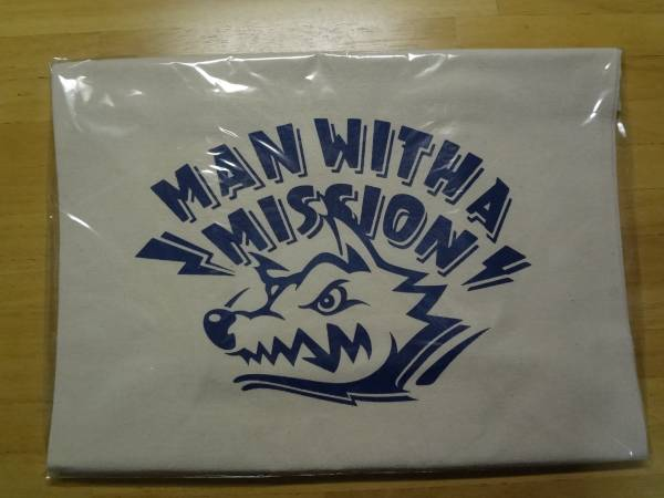 新品 MAN WITH A MISSION ロゴ トートバック