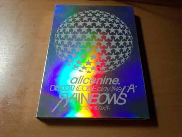 Alice Nineアリス九號DVD「DISCOTHEQUE play like A RAINBOWS ライブグッズの画像
