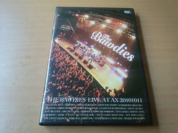 ザ・ボゥディーズDVD「THE BAWDIES LIVE AT AX 20101011」ライブ ライブグッズの画像