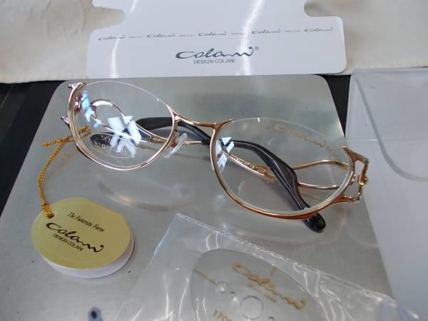 コラーニ ColaniDesign アンダーリム眼鏡フレーム 1706-3 お洒落_画像1
