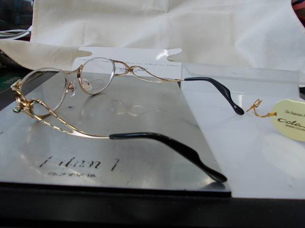 コラーニ ColaniDesign アンダーリム眼鏡フレーム 1706-3 お洒落_画像3