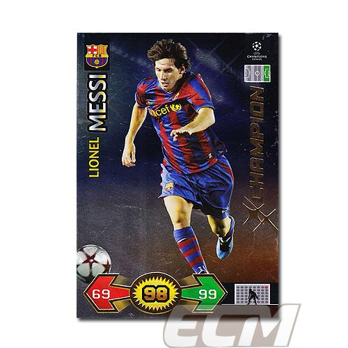 【AD01】メッシ(バルセロナ) PANINI CL SUPER STRIKERS サッカーカード_画像1