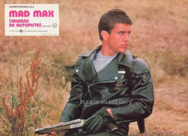 1979年 マッドマックス メル・ギブソン ロビーカード 3枚組