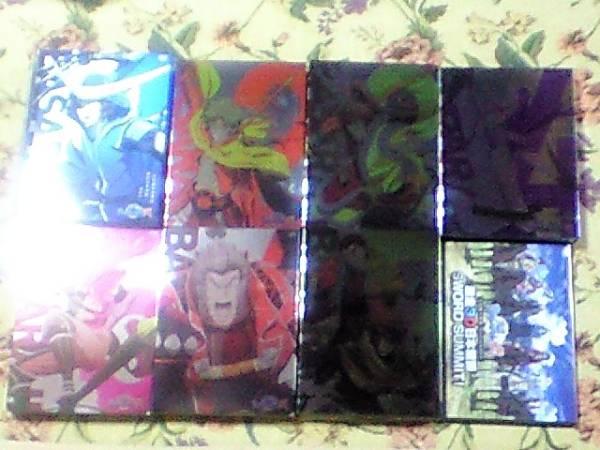戦国BASARA弐DVD全7巻+応募者全員特典DVD初回版アニメイト限定版