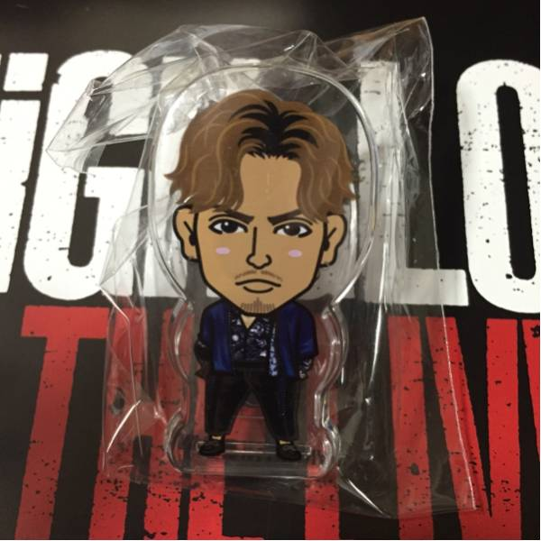 HiGH&LOW THE LIVE EXILE THE SECOND SHOKICHI アクリルクリップ ガチャ