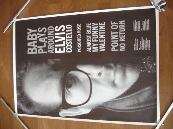 エルヴィス・コステロ コンサート ポスター Elvis Costello