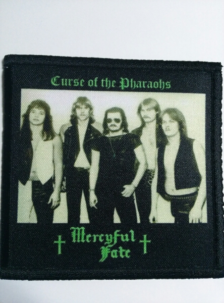 MERCYFUL FATE プリントパッチ ワッペン curse of the pharaohs