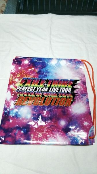 ★新品★EXILE TRIBE THE REVOLUTION 2014 肩掛けビニール袋