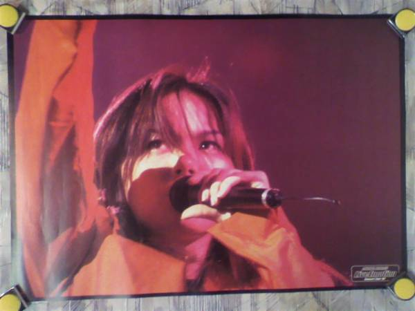 g7【ポスター/B-2】相川七瀬/Live Emotion Concert Tour'97