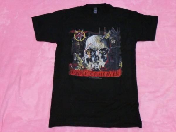 SLAYER スレイヤー ロックTシャツ S バンドT ツアーT Anthrax ライブグッズの画像