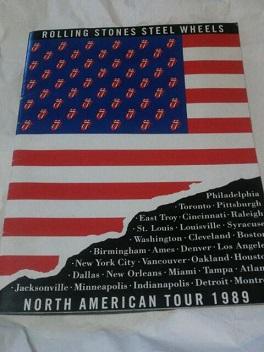 ★『ローリング・ストーンズ・1989年北米ツアー』公式パンフ★
