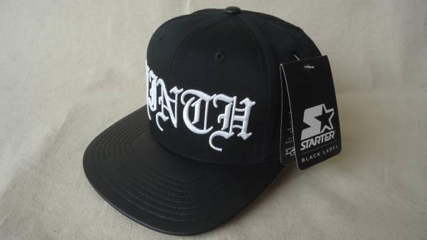 777480fbc4b 代購代標第一品牌- 樂淘letao - Ninth Hall Script Snapback Hat 黒%off 帽子バイザーSTARTER  スターターボディスナップバックキャップ